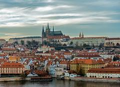 Prague Castle (Tony_Brasier) Tags: castle buildings bluesky water walking lovely location people prague play flickr czechoslovakia river nikon sigma d7200 day 1750mm