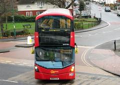 London General WHV109 Not in service Sutton Green 21/12/17. (Ledlon89) Tags: london bus buses tfl londonbus londonbuses sutton general goaheadlondon transport suttonbuses surrey londongeneral
