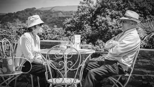 Waiting for Tea/ Overbeck's Garden/ Devon