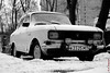 Soviet Moskvitch 2140 (alexey & kuzma) Tags: fujifilm xt20 moskvitch 2140 azlk soviet ussr russia car retro monochrome