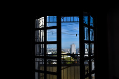 Outside vibes (kh3dr0n) Tags: nature sky blue bluesky green city urban window vibes buildings building tunis tunisia tunisie architecture