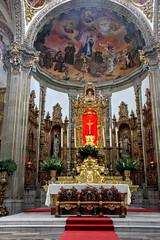Baroque altar (Chemose) Tags: mexico mexique coyoacán church église saintjeanbaptiste saintjohnthebaptist sanjuanbautista autel altar baroque art peinture painting statue canon eos 7d mars march