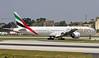 A6-EBR LMML 02-01-2018 (Burmarrad (Mark) Camenzuli) Tags: airline emirates aircraft boeing 77731her registration a6ebr cn 34483 lmml 02012018