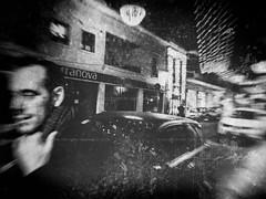 Festive remnants (Bruno Olivieri) Tags: italia italy brunoolivieri fuji biancoenero monocromo bw bn x30 persone oristano street streetphotography