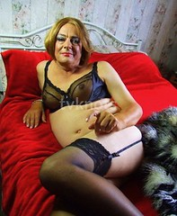 Bed (rosy.flower57) Tags: tv maid trans sissy knickers crossdress