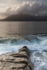 The rock and the sea (mvj photography) Tags: uk scotland ecosse skye elgol plage beach mer sea vagues waves water eau breathtakinglandscapes
