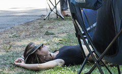 Exhausted (yowser85) Tags: festivals girl woman