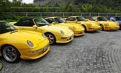 Porsche, 993 GT2 Touring / 993 Turbo Cabriolet / 993 Carrera RS / 964 Carrera RS 3.8 / 964 Turbo S 3.3 Leichtbau, Hong Kong (Daryl Chapman Photography) Tags: porsche hongkong china sar lufthk canon 1d mkiv 2470mm 911 964 993 gt2 touring carrerars turbo964 turbos 33 leichtbau 38 turbocabriolet