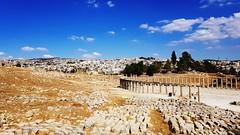 JORDANIA (Grace R.C.) Tags: jordania ruinas paisaje ruins lanscape jerash arqueología archaeology