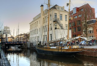 Winterwelvaart,Groningen,the Netherlands,Europe