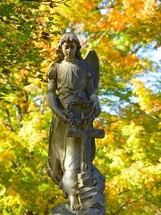 2017.10.28-14.14.19 (Pak T) Tags: angel cemetery grave graveyard lowell lowellcemetery olympus50200mm statue