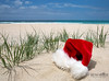 Merry Christmas (Beth Wode Photography) Tags: approved beach beachscape christmas summerchristmas christmashat santahat santahatbeach sand whitesand goldcoastchristmas sanddunes goldcoast queensland queenslandsummer beth wode bethwode