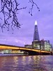 Dusk on the River Thames, London Bridge (Stephen_Hartley) Tags: shardlights theshard riverthames evening architecture cityscape pooloflondon onelondonbridge dusk nightphotography skyscraper