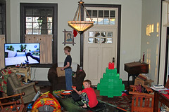 christmasgames (babyfella2007) Tags: dagger kayak perception pescador christmas 2017 boat boats jason taylor michelle grant carson child santa clause pajamas arts crafts victorian mantle fireplace piece rocking chair morris radio antique paddle tree present winnsboro sc south carolina boys old young mom river