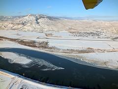 1712230007 (Jan Nademlejnsky) Tags: kamloops winterbeauty nademlejnsky airborne northwing quest gt5 hangglider trike flying ultralight southridge sandbars