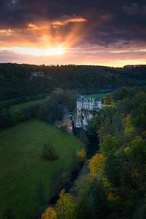 Castle of Walzin, Belgium
