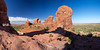 Turret Arch_pan03 (Wizum) Tags: 2017 archesnationalpark moab utah desert hike hiking landscape nature usa turretarch shadow arch archesnp panoramic