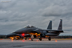 98-0135 F15E Strike Eagle (Nigel Blake, 16 MILLION views! Many thanks!) Tags: 980135 f15e strike eagle raflakenheath suffolk nigelblakephotography nigelblake dusk low light last chance eor arming area military fast jet fighter