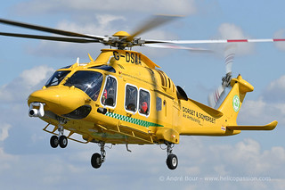 Dorest & Somerset Air Ambulance AW169 helicopter G-DSAA, UK