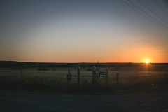South Road (KevinHillPhotography) Tags: open road roads texas route noon evening sunset sunsets gravel rocks fields view landscape