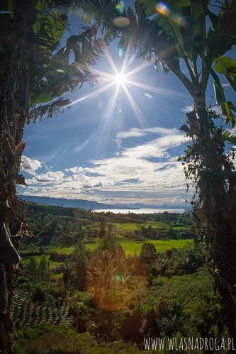 Widok na Jezioro Toba