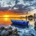 Bostanli sunset