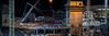 warriors arena progress 12.18.17 (pbo31) Tags: bayarea california nikon d810 color black dark night december 2017 boury pbo31 sanfrancisco city urban construction build crane missionbay warriors basketball nbl arena chase over frame progress sport 3rd site panorama large stitched panoramic steel