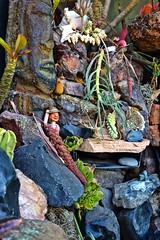 Greetings From Easter Island (Art By Pem Photography: Tao Of The Wandering Eye) Tags: fineartphotography canon canoneosrebelsl1 canonefs24mmf28stm sl1 tchotchkes succulents humor easterisland figurine usa stilllife whimsical