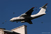 Ilyushin Il-76TD (srkirad) Tags: aircraft jet cargo ilyushin il76 landing spotting niš serbia srbija roofs chimneys birds low verylow lowaltitude rubystar white sky