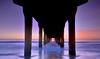 Manhattan beach pier (Saravanansuri) Tags: labeaches manhattanbeach sunset pier ocean waves southerncalifornia pacificcoast