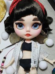 #06 Felicia - Custom Blythe Doll - OOAK Blythe Doll