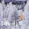 Litle huset -|- Little house (erlingsi) Tags: no prismatic house gjersdal volda vinter winter ocher oker sq