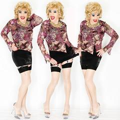 home16875-77 (Ann Drogyny) Tags: shoes legs heels crossdress crossdresser crossdressing cd tv tg ts transvestite transgender transsexual tranny tgirl glamour pinup mature cute sexy stockings nylons suspenders garters
