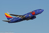 Southwest Airlines Boeing 737 -Triple Crown- N409WN (rob-the-org) Tags: exif:focallength=300mm exif:aperture=ƒ11 exif:lens=ef70300mmf456isusm exif:model=canoneos60d camera:make=canon exif:isospeed=100 camera:model=canoneos60d exif:make=canon kphx phx skyharborinternational phoenixaz southwestairines boeing 737 n409wn triplecrown departure f11 300mm 1200sec iso100 cropped noflash