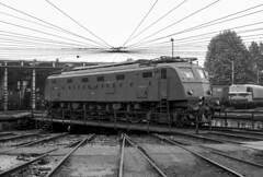 FS E 428.238 III MI Smistamento 30/09/1984.  Foto Roberto Trionfini (stefano.trionfini) Tags: train treni bahn cfn fs e428 milano smistamento italia italy