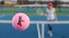 Pink In Motion (disgruntledbaker1) Tags: blue pink ball tennis