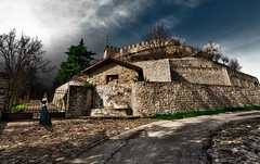 Welcome to Queen Guinevere's Castle (Marco Trovò) Tags: marcotrovò hdr canon5d montesegale pavia italia italy city città strada via street casa house castellodimontesegale montesegalecastle