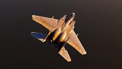 Refueling_3 (The_SkyHawk) Tags: world f15 eagle usaf refueling air force dcs digital combat simulator flight flying jets aviation virtual flightsim
