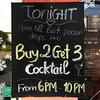 Last man standing (Tanenhaus) Tags: vietnam phuquoc island cocktail chalkboard menu humor rabbithole bar pub