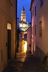 The street of Cesky Krumlov (*ALLA*) Tags: