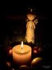 Advent, Advent, ein Lichtlein brennt ... (gartenzaun2009) Tags: advent kerze weihnachten