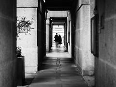 Couple (YZ [Street]) Tags: exterior bw urban noiretblanc streetphoto cities street sw blackwhite streetphotography blackandwhite city downtown