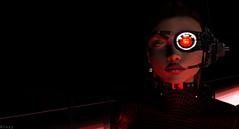 Cyborg Domme (sublime.blackburn) Tags: cyborg scifi mars insilico domme sexy portrait