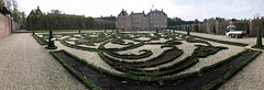 Decorative gardens panorama (quinet) Tags: 2017 antik château hetloo holland netherlands niederlande paysbas schloss ancien antique castle panorama vancouver britishcolumbia canada 124