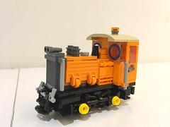LEGO Narrow Gauge Diesel (Britishbricks) Tags: diesel engine narrowgauge lego