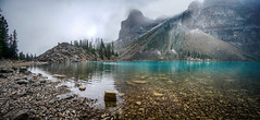 Moraine Lake stones (VanveenJF) Tags: moraine alberta canada banff yoho louise lake