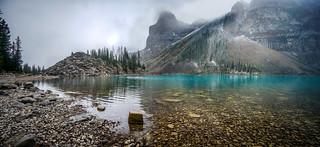 Moraine Lake stones