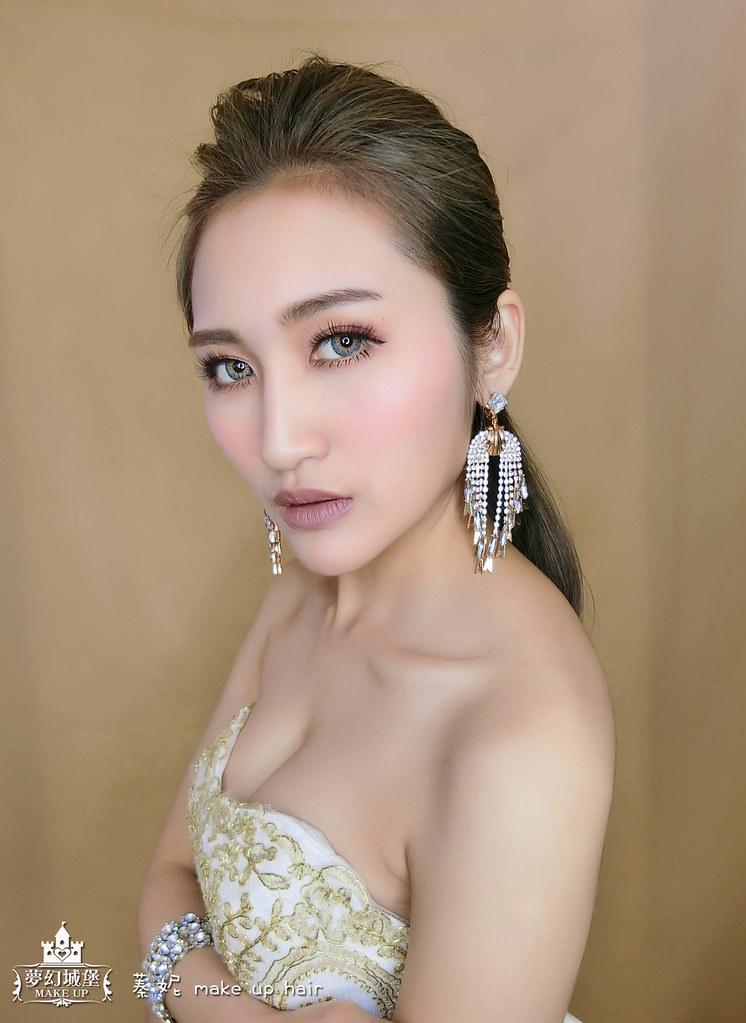 【新秘蓁妮】新娘造型創作 / 時尚簡約造型