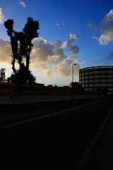 ROMA METROPOLI(tane): lavori metro c con palazzo ex lattanzio (gaudenzio_) Tags: italia lazio roma canon 350d cantiere lavoro metroc