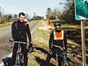 2000: Smedley joins a charity bicycle trek across the USA. (Fotofricassee) Tags: crosscountry america 2000